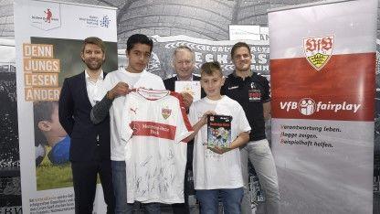 VfBfairplay kicken&lesen 2016 Abschlussveranstaltung