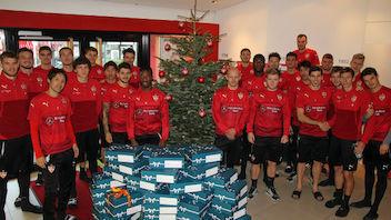 VfB unterstützt Weihnachtsaktion