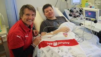 VfB Fan hilft als Stammzellenspender