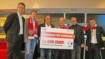 35.000 Euro für Unwetteropfer