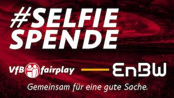 VfB Selfiespende – Gemeinsam für eine gute Sache