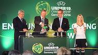 Auftaktspiel der DFB-U19 gegen Italien