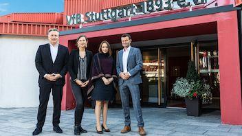 VfB Akademie besiegelt Zusammenarbeit mit Kolping Bildungswerk
