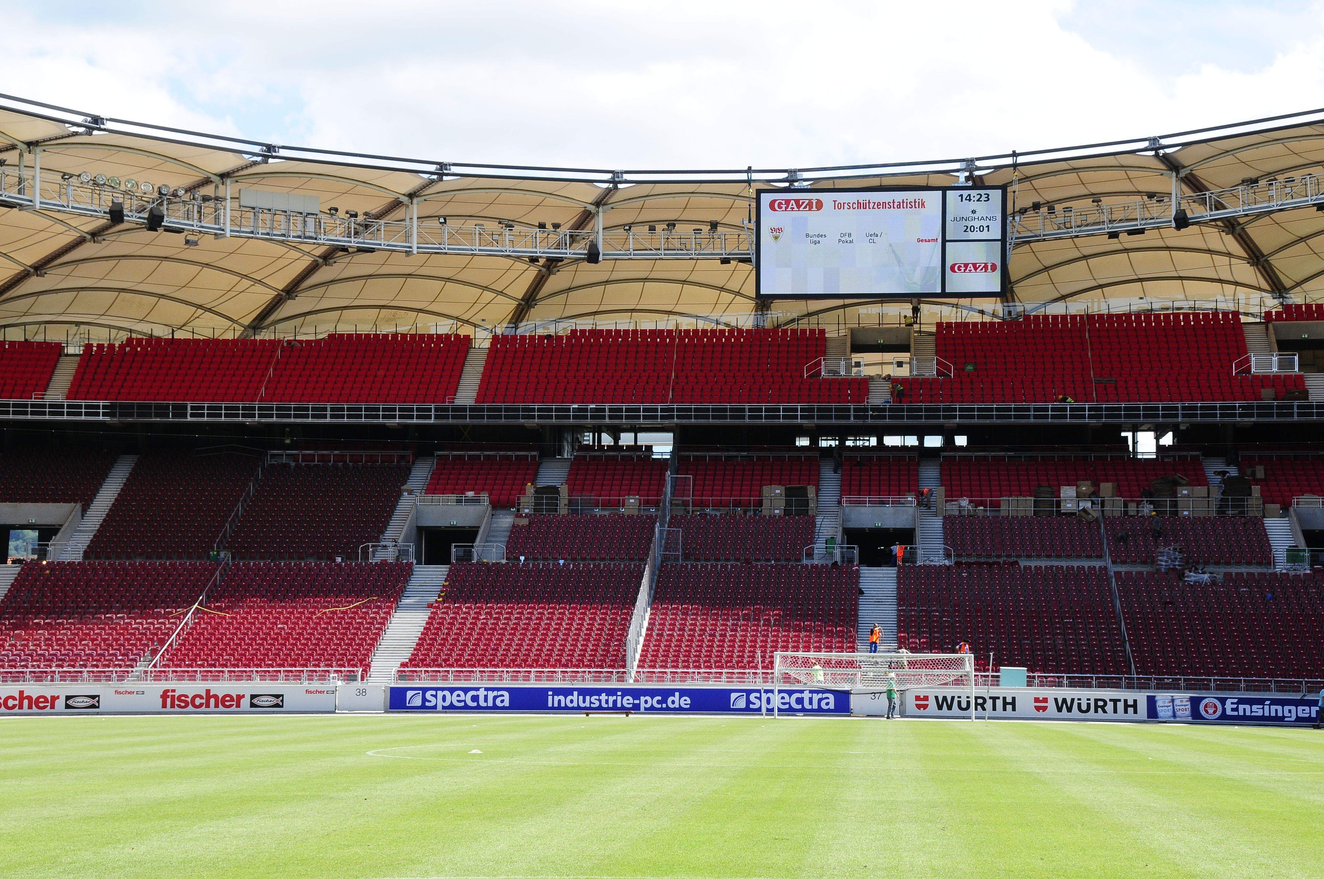Mercedes Benz Arena Neubau Untertrkheimer Kurve