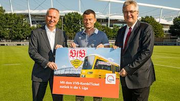 Der VfB Stuttgart kooperiert weiter mit dem VVS