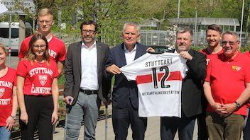 VfBfairplay: Heimspiel in den Neckartalwerkstätten