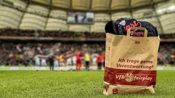 """Die VfB Einkaufstasche """"Tütle"""" – umweltfreundlich und CO2-neutral"""