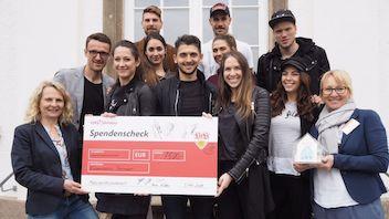 7.500 Euro für das Kinderhospiz Stuttgart