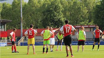 Förderung des inklusiven Fußballs