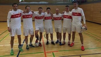 Spitzenfaustball in Stuttgart mit dem VfB