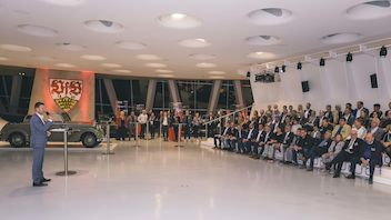 14. November 2018 | Weiß-rote Business Events | 125 Jahre VfB Stuttgart I Mercedes-Benz Museum