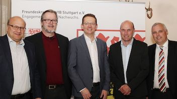 Markus Scheurer, Klaus-Dieter Feld, Andreas Oberascher, Markus Holzschuh, Roland Simon (v.l.)
