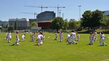 Pfingstferien-Camp im NeckarPark - PSV Stuttgart