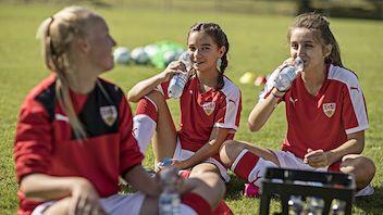 Mädchen-Camp im NeckarPark - PSV Stuttgart