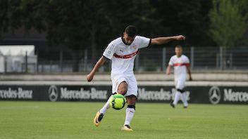 Azad Toptik traf zum 2:0 gegen den KSC
