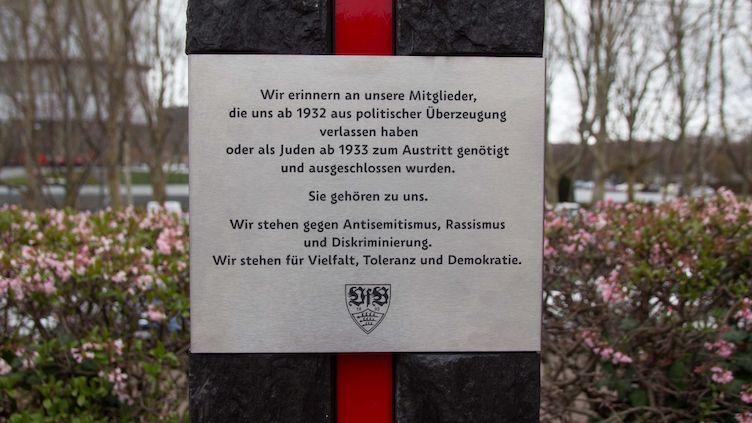 Bildergebnis für Stuttgart gedenkstele VfB