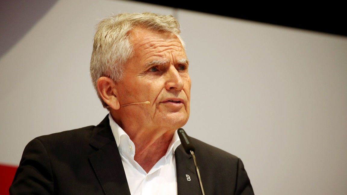 Wolfgang Dietrich steps down