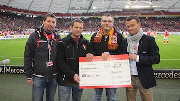 OFC Highlander spendet 22.000 Euro an VfBfairplay