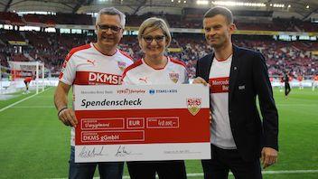 40.000 Euro für die DKMS