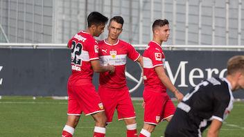 VfB gewinnt Testspiel gegen Sandhausen