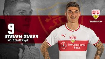 Der VfB leiht Steven Zuber aus