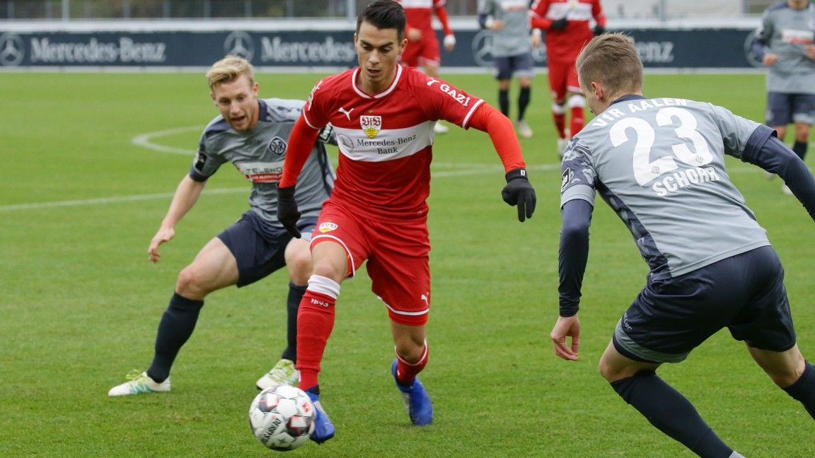 VfB held by VfR Aalen in friendly