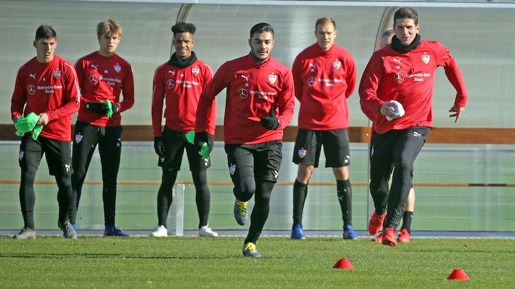 Vfb Stuttgart öffentliches Training Vor Dem Heimspiel Gegen Rb Leipzig