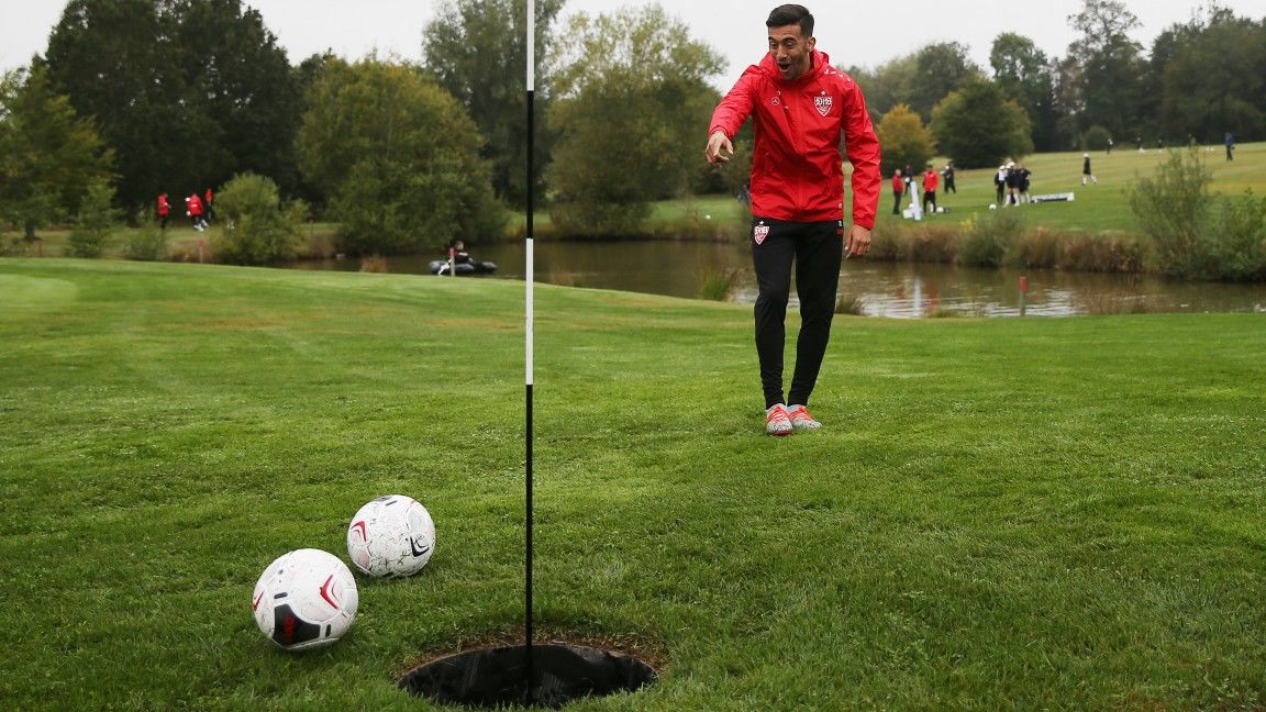Footgolf Cup to start the week