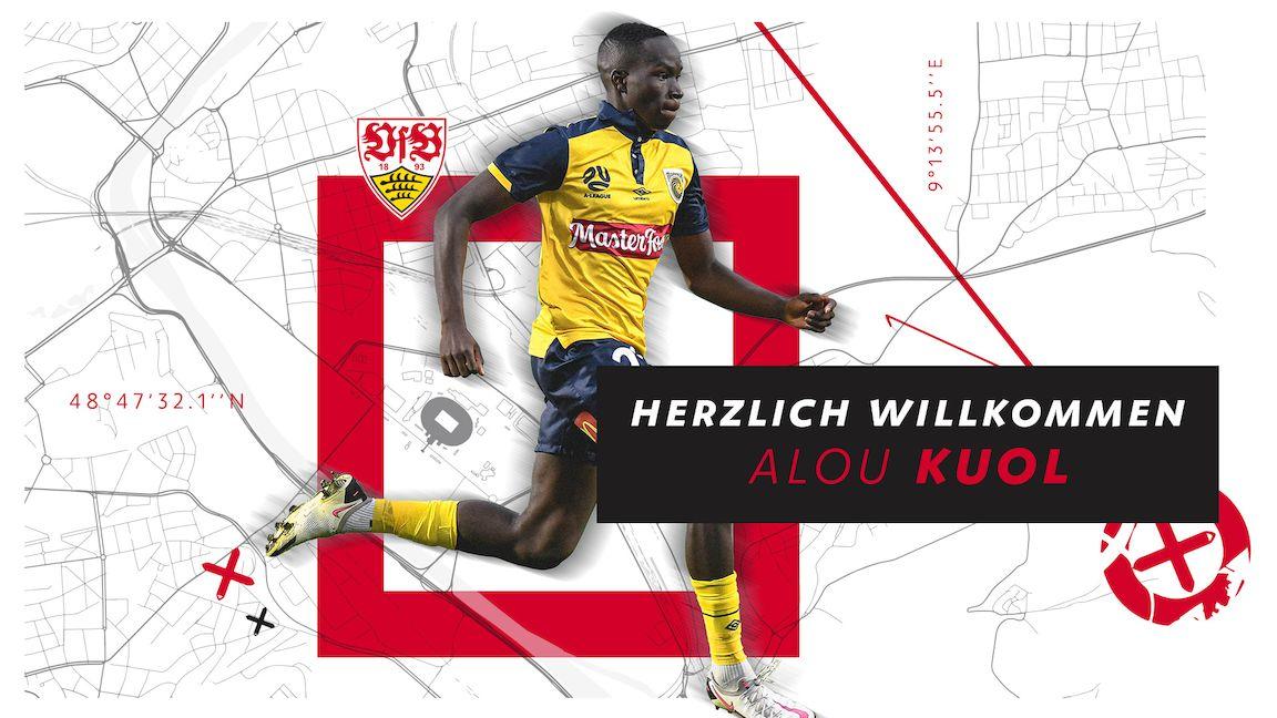 Der VfB verpflichtet Alou Kuol