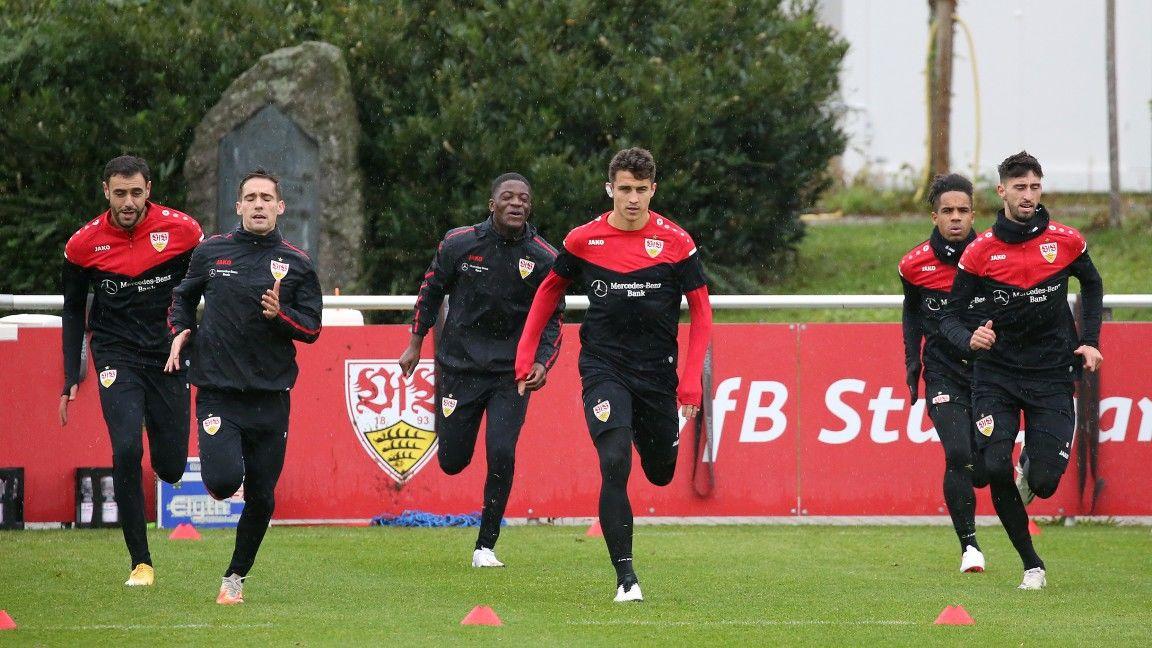 Vorbereitungsstart vor dem Freitagsspiel auf Schalke