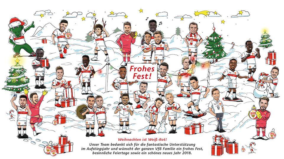 VfB Stuttgart | Weihnachtsgruß 2017
