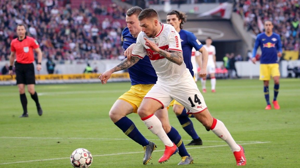 VfB beaten by clinical Leipzig