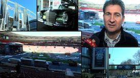 Umbau: Stars & Cars in der Mercedes-Benz Arena