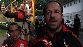 Interviews nach dem Test gegen den FC Winterthur