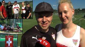 VfB Freunde Ostschwiiz beim Training