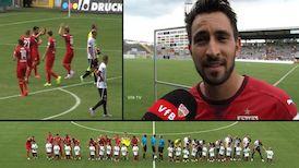 Testspiel: VfR Aalen - VfB Stuttgart
