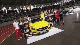 Der Mercedes-Benz JuniorCup 2015