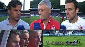 Highlights: FC Erzgebirge Aue - VfB Stuttgart