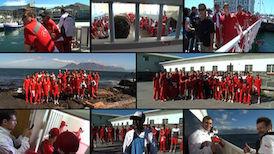 Der Besuch des Teams auf Robben Island