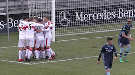 Highlights: VfB Stuttgart U17 - TSV 1860 München