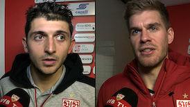 Die Interviews nach dem Spiel in Würzburg