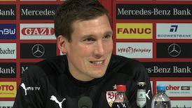 Die Spieltags-PK vor dem Würzburg-Spiel