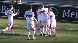 Highlights: VfB Stuttgart U17 - SV Sandhausen