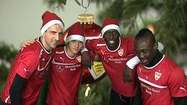 Weihnachtsgruß der Mannschaft
