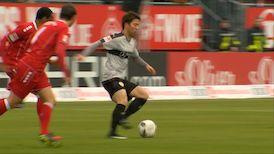 1. Halbzeit: Würzburger Kickers - VfB Stuttgart