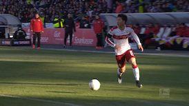 2. Halbzeit: FC Erzgebirge Aue - VfB Stuttgart