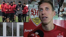 Im Interview: Florian Klein nach dem Union-Spiel