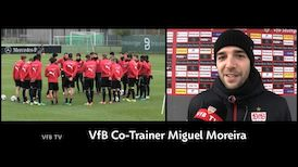 Co-Trainer Miguel Moreira im Interview