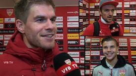 Die Interviews nach dem Bielefeld-Spiel