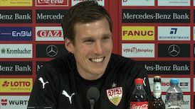Die Spieltags-PK vor dem Bielefeld-Spiel
